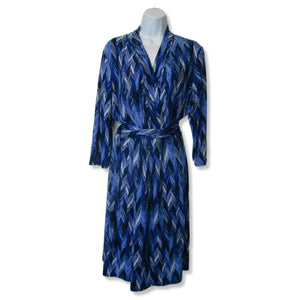 new Liz Claiborne ladies blue dress