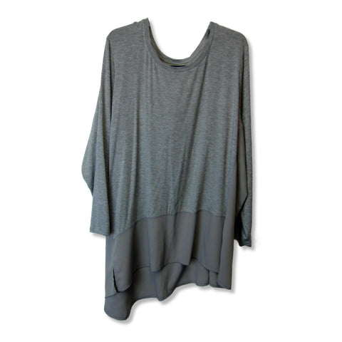 new Diane Gilman ladies gray top