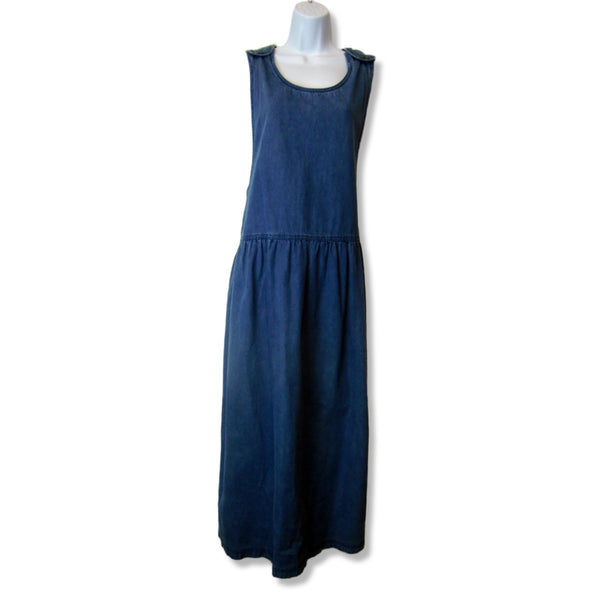 new Northwest Blue ladies blue denim maxi jumper