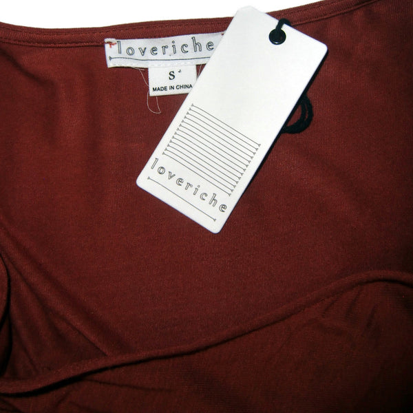 new Loveriche ladies brick colored top