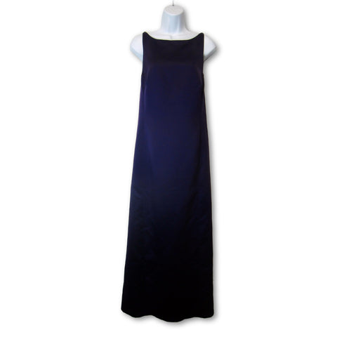 used Yves Cossette ladies purple evening gown