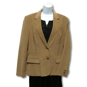 used Collections ladies brown blazer