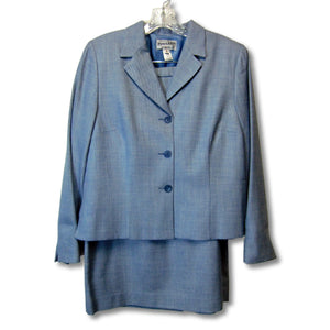 used Pendleton ladies 2-piece light blue suit