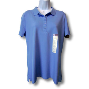 new Laura Scott ladies blue polo shirt