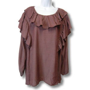 new Rethm ladies top in mauve or gray