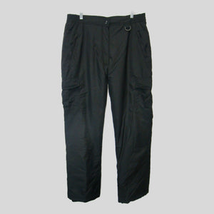 used Sport Essentials man's black snow/ski pants