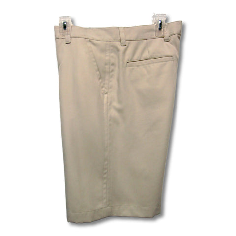 used IZOD man's tan golf shorts