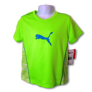 new Puma child's green top, unisex