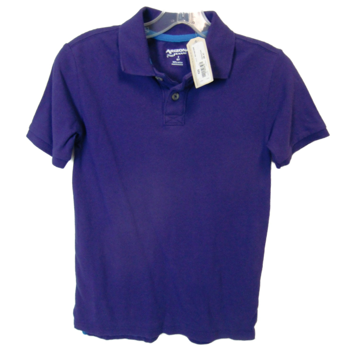 new boys purple polo shirt