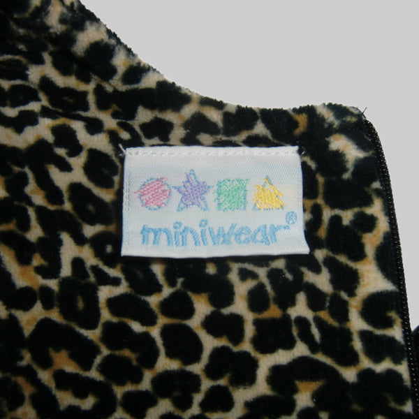used baby girls Miniwear leopard set