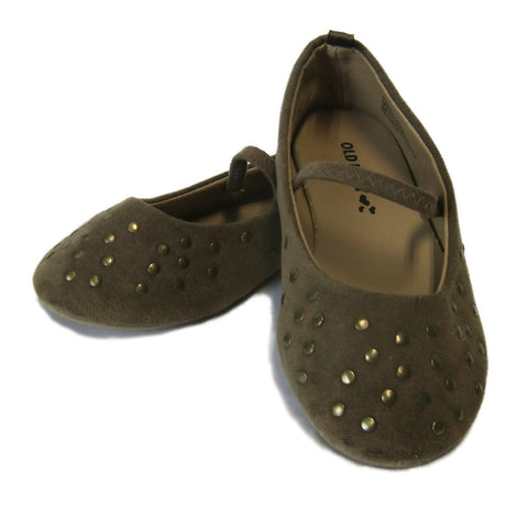 used girls brown shoe
