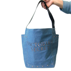 new ladies denim tote bag
