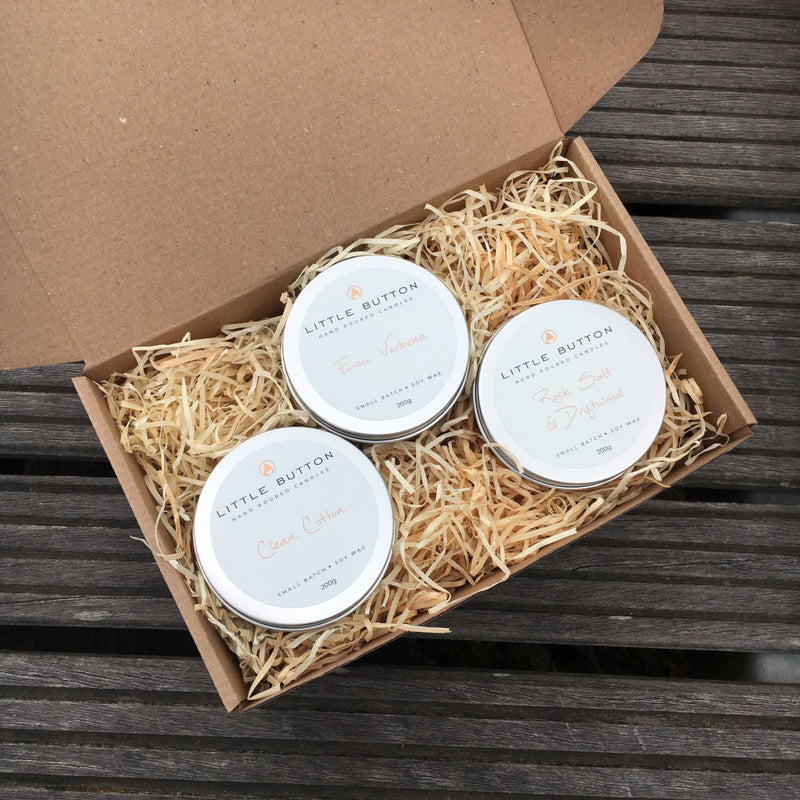 Scented Candle Gift Set | Spring