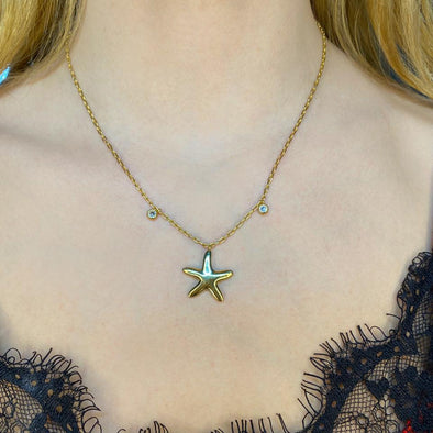 Star Fish Necklace (1208)