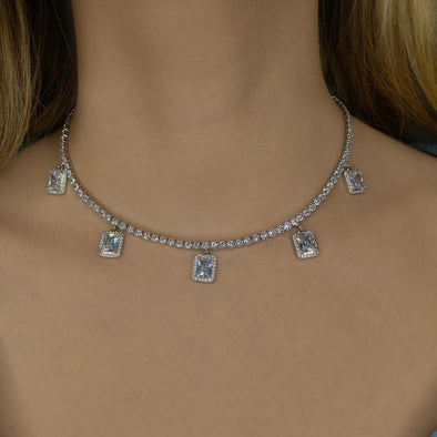 Charmed Up Tennis Choker (1257)