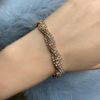 Zircon Bridal Bracelet (MG034)