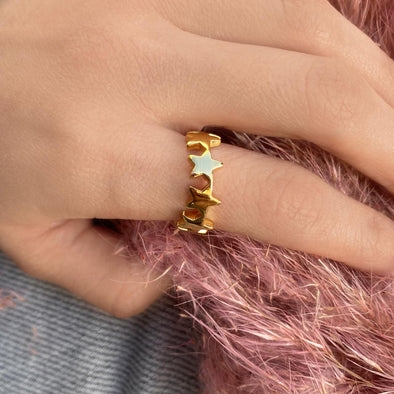 Infinity Star Ring (1292)