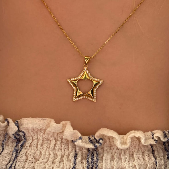Star Love Necklace (1277)