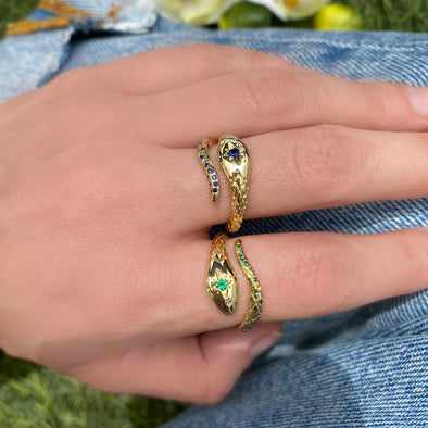 Eternal Snake Ring (W051)