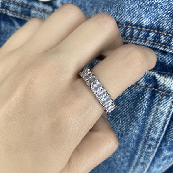 Oval Eternity Band (1158)