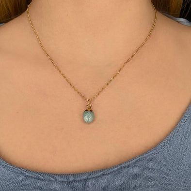 Mini Quartz Necklace (078)