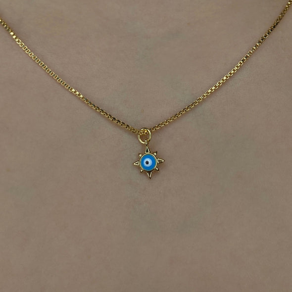 Turquoise Evil Eye (W049)