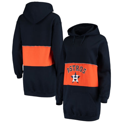 Houston Astros Hooded Sweatshirt Dress