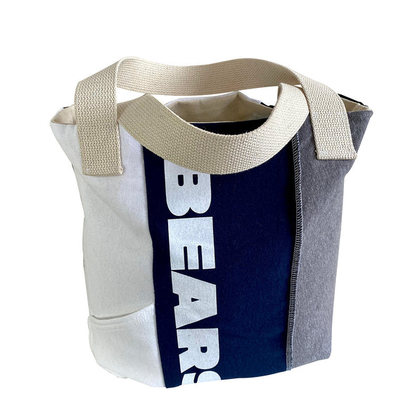 Chicago Bears Tote Bag - Black/White/Grey