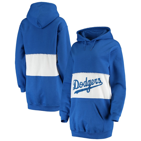 Los Angeles Dodgers Hooded Sweatshirt Dress