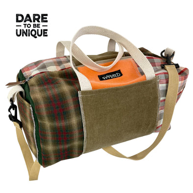 Flannel Duffle Bag