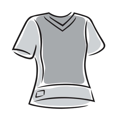 MLB V-neck Short Sleeve Jersey Fashion Top