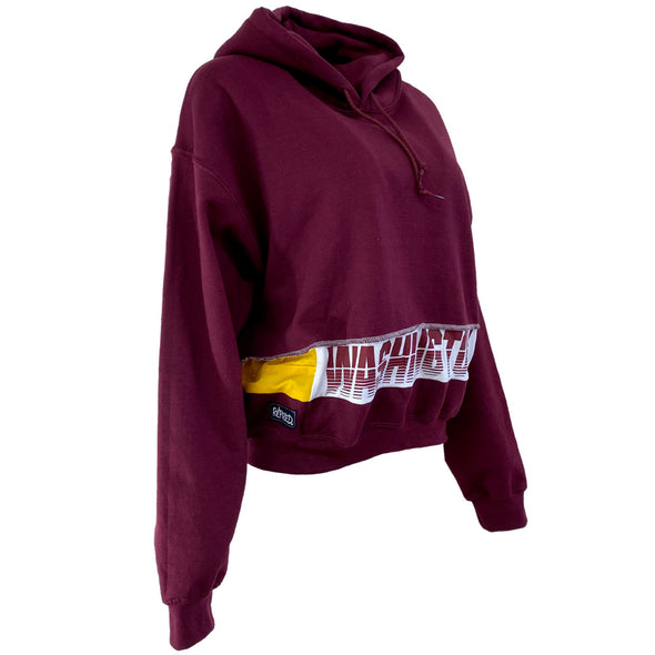Washington Football Team Women's Hooded Crop Sweatshirt