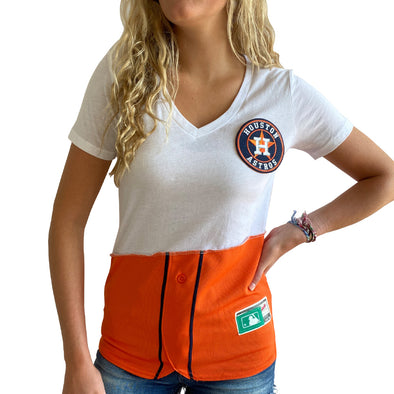 Houston Astros V-Neck Top
