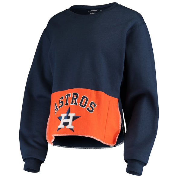 Houston Astros Crop Sweatshirt