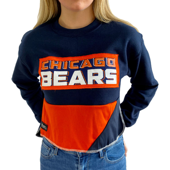 Chicago Bears Crew Crop Sweatshirt