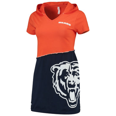 Chicago Bears Hooded Mini Dress