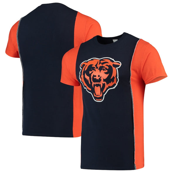 Chicago Bears Split Side Short Sleeve Tee Top