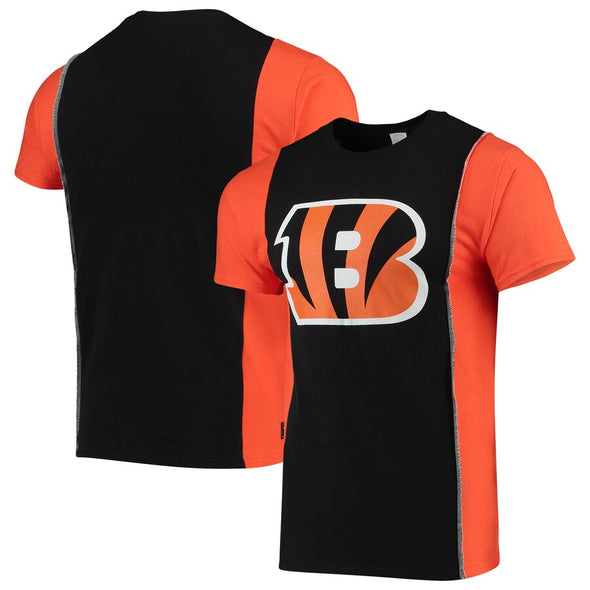 Cincinnati Bengals Split Side Short Sleeve Tee Top