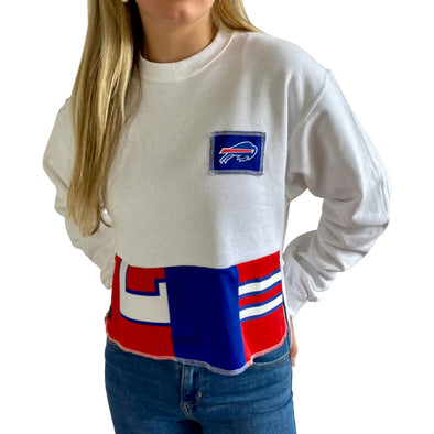 Buffalo Bills Crew Crop Sweatshirt