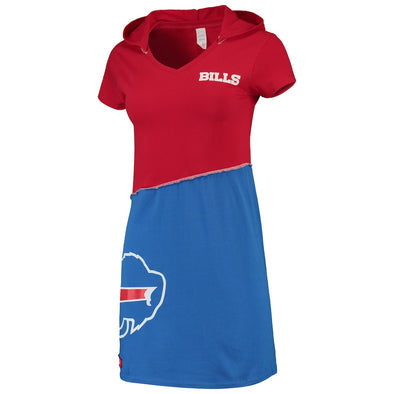 Buffalo Bills Hooded Mini Dress