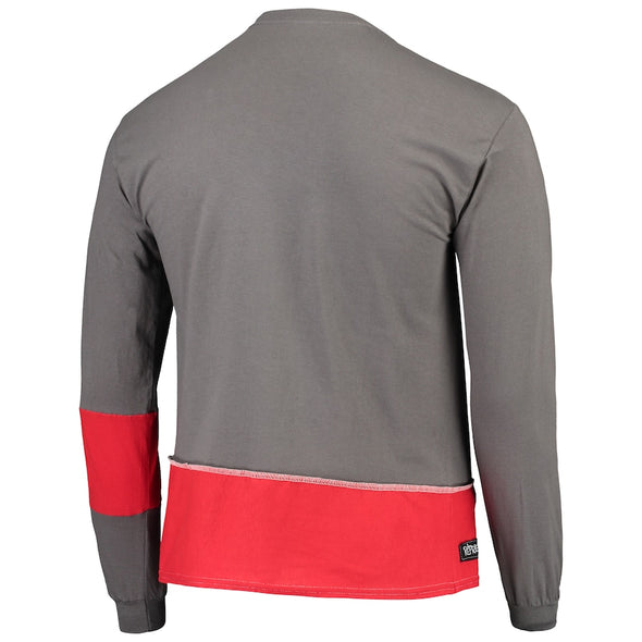 Tampa Bay Buccaneers Split Angle Long Sleeve Tee Top