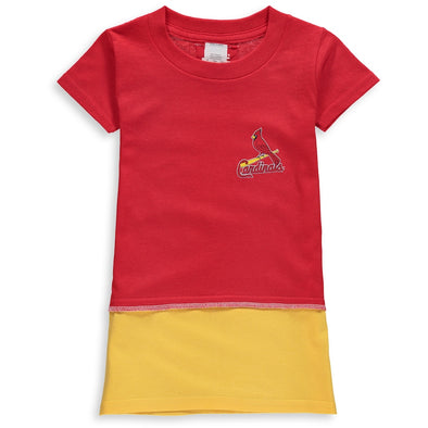 St. Louis Cardinals Kid's Tee Dress