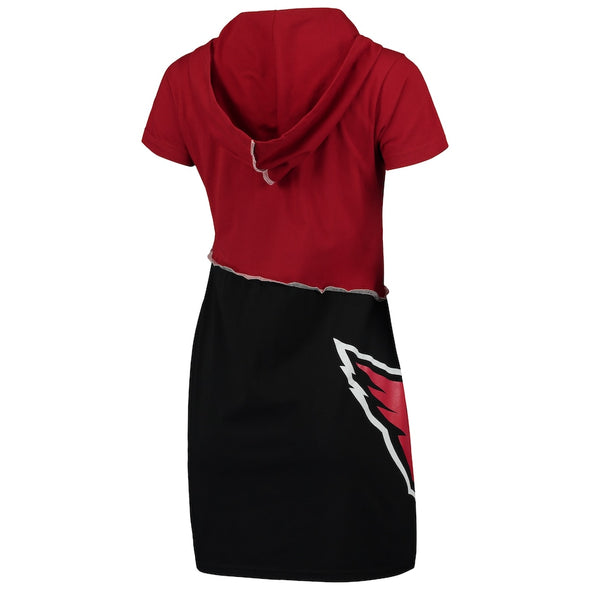 Arizona Cardinals Hooded Mini Dress