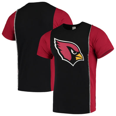 Arizona Cardinals Split Side Short Sleeve Tee Top