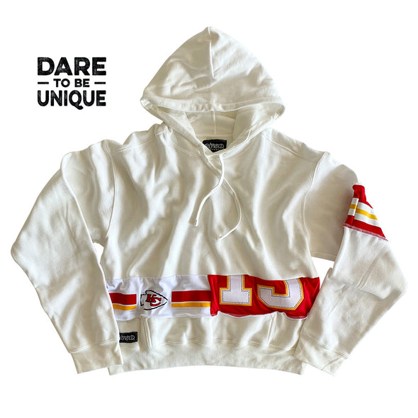 Kansas City Chiefs Hooded Crop Sweatshirt