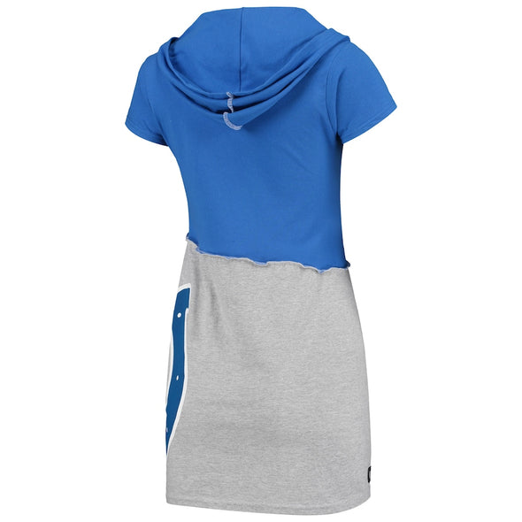 Indianapolis Colts Hooded Mini Dress