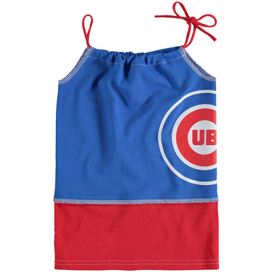 Chicago Cubs Kid's Tank Dress