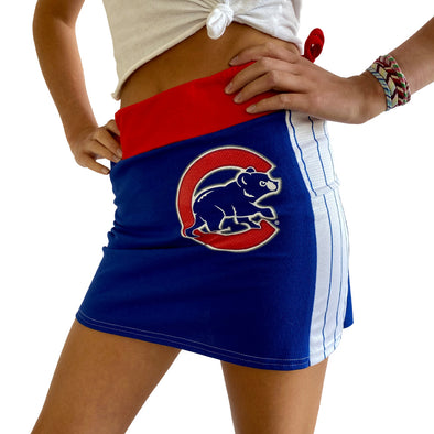 Chicago Cubs Mini Skirt