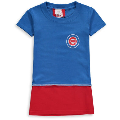 Chicago Cubs Kid's Tee Dress