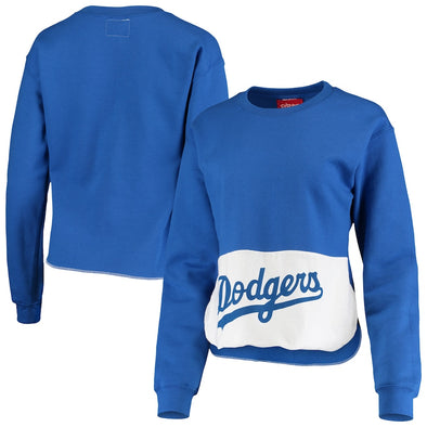 Los Angeles Dodgers Crop Sweatshirt